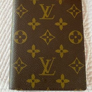 Louis Vuitton passport holder authentic